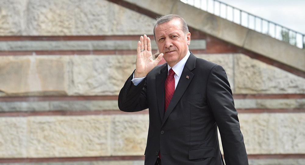Түркиянын президенти Режеп Тайип Эрдогандын архивдик сүрөтү