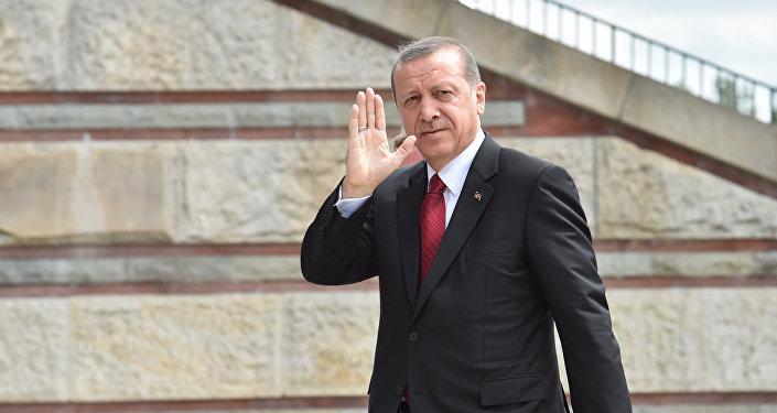 Түркиянын президенти Режеп Тайип Эрдогандын архивидк сүрөтү