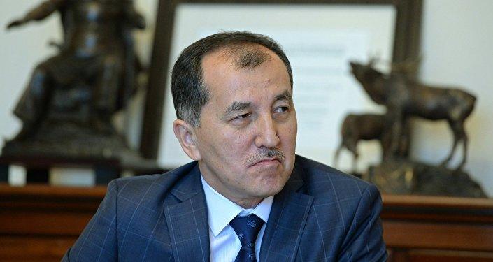 Председатель Конституционной палаты Верховного суда КР Эркинбек Мамыров