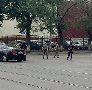Алматынын полициясы