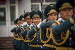 Служба в Национальной гвардии Кыргызской Республики