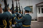 Улуттук гвардиянын аскерлери. Архив
