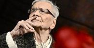 Старейший в мире театральный актер по версии Книги рекордов Гиннесса Раду Белиган. Архивное фото