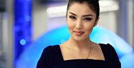 Игрок кыргызстанской команды КВН Азия MIX Ситора Фармонова. Архивное фото