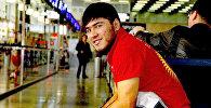 Участник Олимпиады-2016, 22-летний чемпион Азии, тяжелоатлет Иззат Артыков. Архивное фото