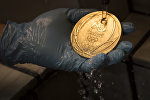 Рио олимпиадасынын алтын медалы. Архив