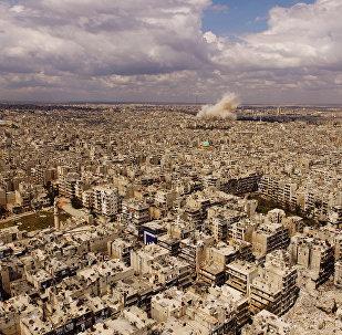 Алеппо шаары. Архивдик сүрөт