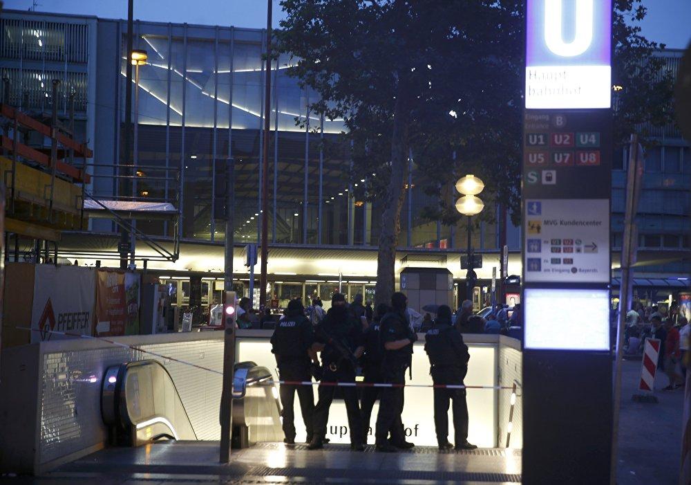 Стрельба в торговом центре Olympia в Мюнхене