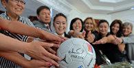 Көчө футбол боюнча Кыргызстан улуттук командасы. Архивдик сөрөт.