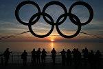 Олимпиада белгиси. Архивдик сүрөт