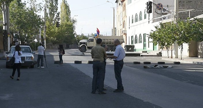 Три человека ранены при стрельбе вЕреване