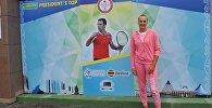 Кыргызстандык теннисчи Ксения Палкина. Архив