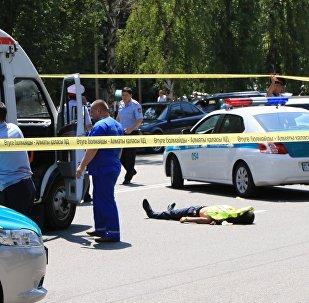 Стрельба в Алматы