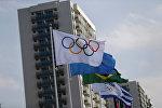 Олимпиядалык оюндардын логотиби. Архив