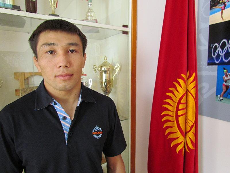 Кыргызстанский борец греко-римского стиля Арсен Эралиев. Архивное фото