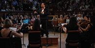 Молодежный камерный оркестр Международной организации тюркской культуры (ТЮРКСОЙ) выступил в английском городе Оксфорд
