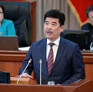 Министр культуры, информации и туризма Кыргызской Республики Максутов Алтынбек Аскарович. Архивное фото