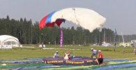 Прыжки на точность приземления - россиянки выступили на ЧМ по парашютному спорту