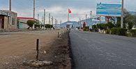 Балыкчы — Тамчы — Чолпон-Ата — Корумду унаа жолун реконструкциялоо иштери. Архивдик сүрөт