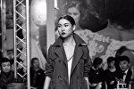 Бикини сулуусу-2016 сынагынын жеңүүчүсү Саадат Асылбекова. Архив