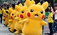 Фестиваль покемона Пикачу в Японии. Архивное фото