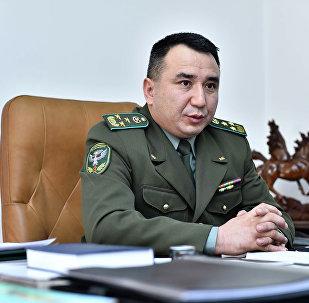 Начальник Государственной пограничной службы Кыргызстана Райимберди Дуйшенбиев. Архивное фото