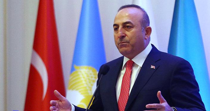 Түркиянын тышкы иштер министри Мевлүт Чавушоглу. Архив
