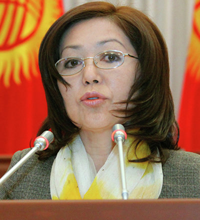 Экс-депутат Жогорку Кенеша Урмат Аманбаева. Архивное фото