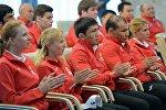 Участники ХХХIлетних Олимпийские игр в Рио спортивная делегация КР. Архивное фото