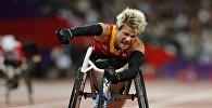 Паралимпиада чемпиону бельгиялык Марике Верворт. Архив