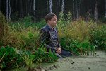 ВКонтакте сайтында болгон конкурска сазга батып сүрөткө түшкөн мектеп окуучусу Игорь Назаров
