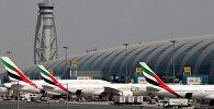 Emirates авиакомпаниясынын учактары. Архив