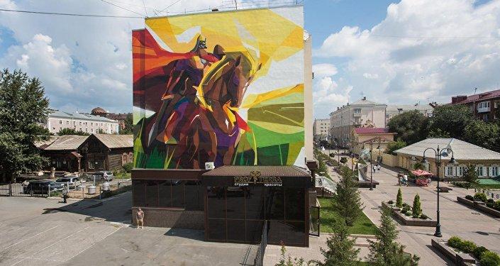 Россиянын шаарларында Стенограффия аттуу көчө искусствосунун фестивалы өтөт. Катышуучулар турак-жайларга жана муниципалдык имараттардын тышына өзүнүн көптөн бери эңсеп келген сүрөтүн тарта алат