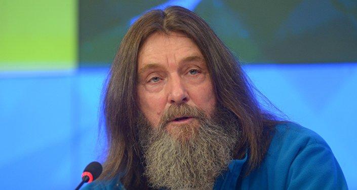 Путешественник Федор Конюхов на пресс-конференции. Архивное фото