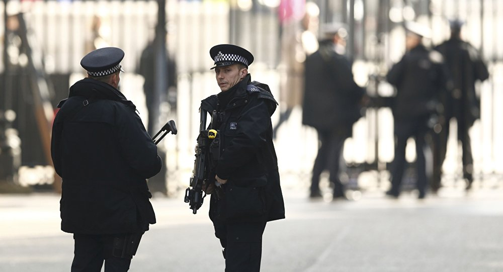 Улуу Британиянын полиция кызматкерлери. Архив