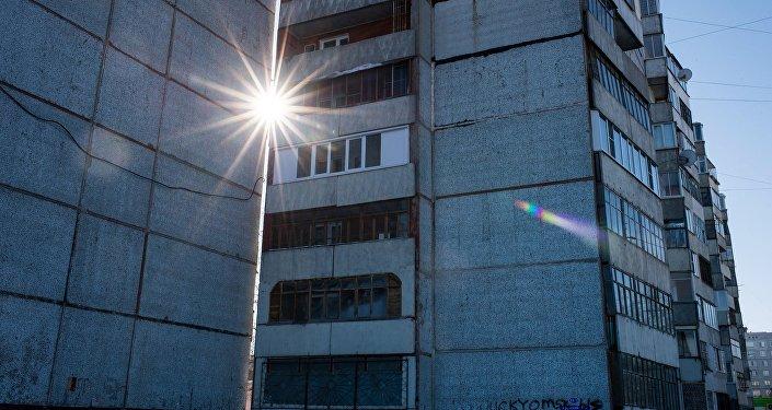 Многоэтажные жилые дома. Архивное фото