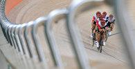 Спортсмены на тренировке в Олимпийском парке в Рио-де-Жанейро.