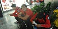 Члены олимпийской сборной Кыргызстана по спортивной борьбе. Архивное фото
