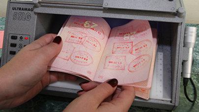 Паспортту текшерүү. Архивдик сүрөт