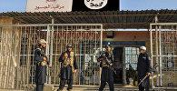 Ислам мамлекети террордук уюмунун согушкерлери, архивдик сүрөт