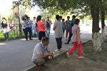 Пассажиры автобуса Екатеринбург — Бишкек застрявшие в Астане