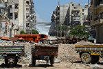 Сириядагы кыйраган үйлөр