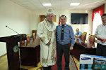 Экс-начальник ДПС Сергей Дьяченко и министр внутренних дел Кашкар Джунушалиев