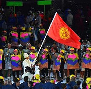 Кыргызстандын делегациясы Рио олимпиадасында. Архив
