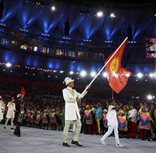 Сборная Кыргызстана на  XXXI летних Олимпийских играх в Рио-де-Жанейро. Архивное фото
