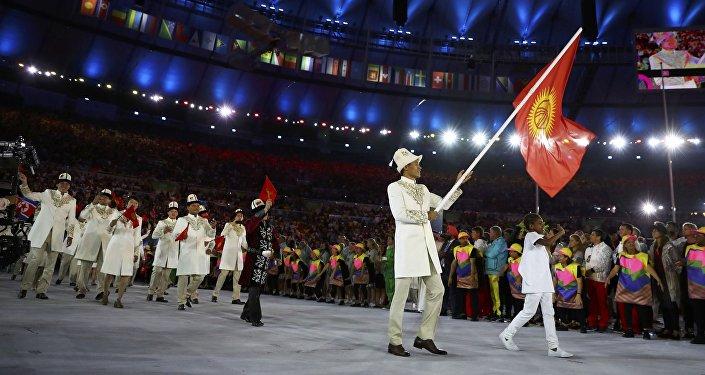 Рио олимпиадасындагы Кыргызстандын курама командасы. Архив