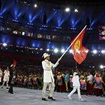 Олимпиаданын ачылыш салтанатында 207 өлкөдөн келген 12 миң спортчунун катарында биздин спортчулар да кыргыз желегин желбиретишти