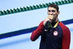 Рио-де-Жанейродо өтүп жаткан жайкы олимпиадалык оюндарда америкалык Майкл Фелпс