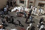 Пакистандын Кветта шаарындагы ооруканадагы жардыруу