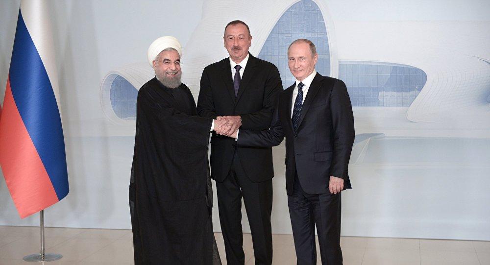 Путин, Рухани иАлиев подписали декларацию по результатам встречи встолице Азербайджана